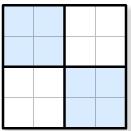 Судоку 4x4, 6x6, 9x9