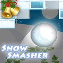 Разгромный снежок (Snow Smasher) игра Арканоид