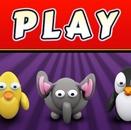 Игры на память: Животные (Animal memory game)