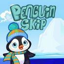 Пингвин прыгун на льдины
