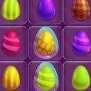 Пасхальные яйца три в ряд