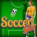 Игра Футбол и Девушка