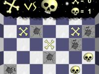 Игра Скелеты и Черепы в ряд