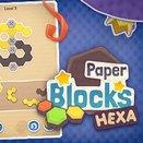 Игра Бумажные Гекса Блоки