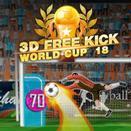 3D Пенальти Чемпионата мира по футболу 2018