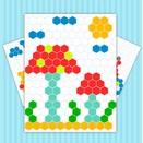 Игра Мозаичные раскраски