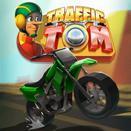Трафик Том на мотоцикле